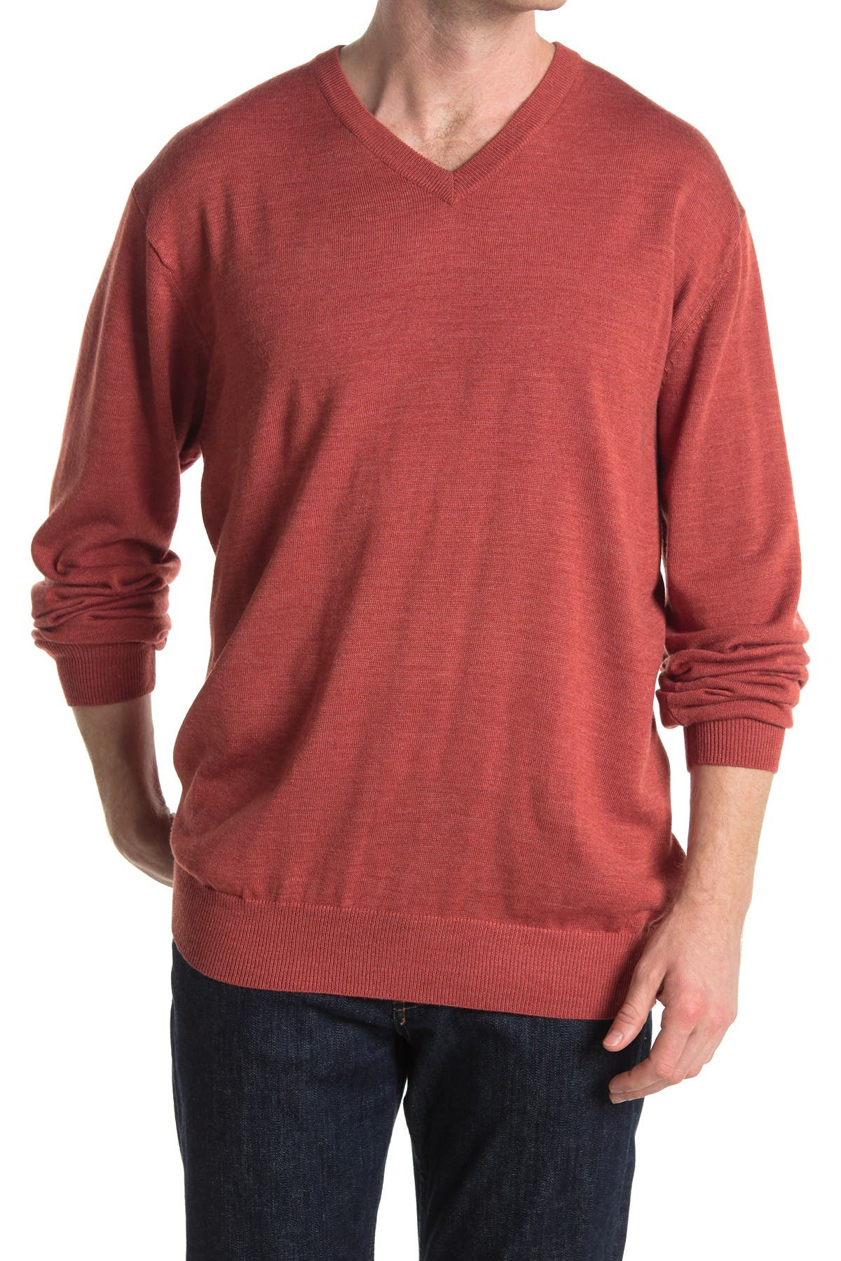 Image of Cutter & Buck Douglas V-Neck Sweater