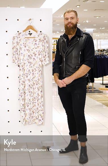 Jayne Button Detail Plunge Neck Dress, sales video thumbnail
