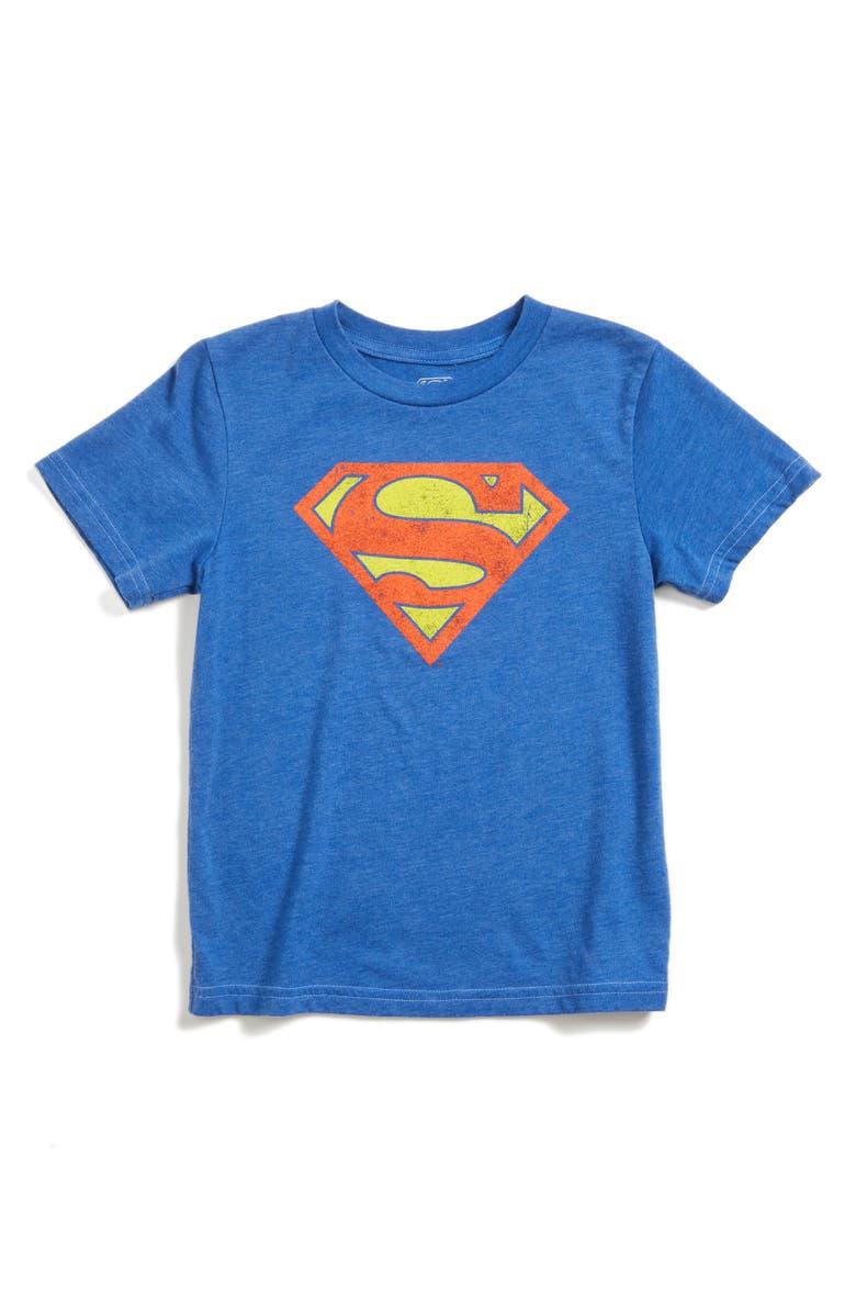 JEM Superman Graphic T-Shirt, Main, color, 408