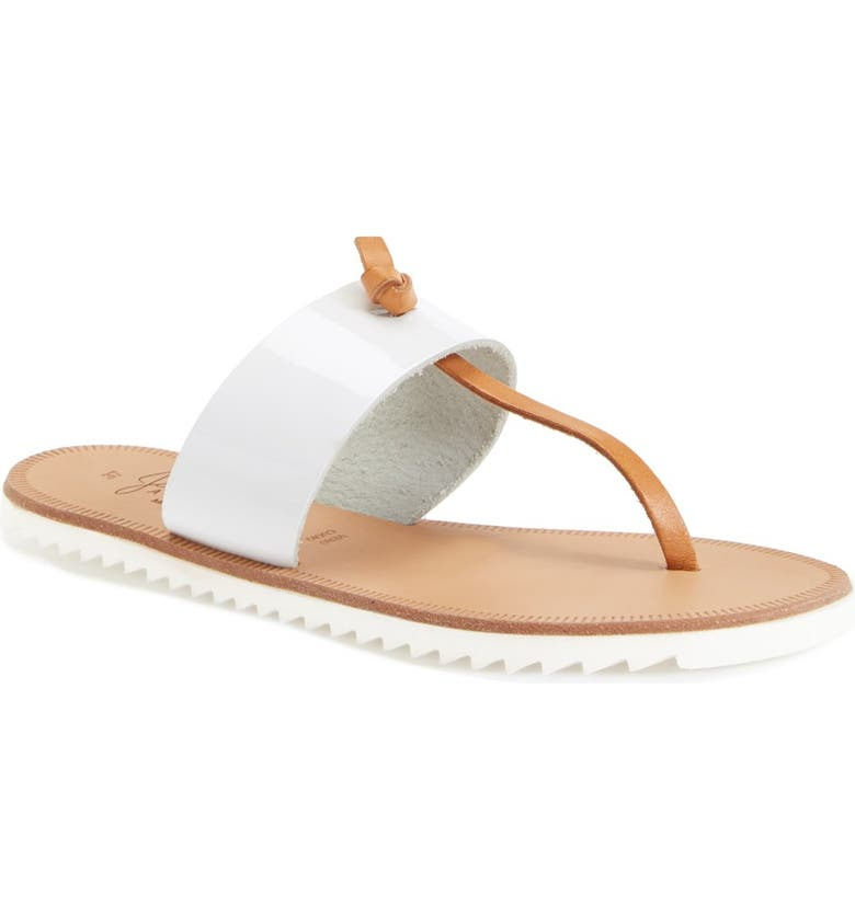 JOIE 'Malaga' Leather Thong Sandal, Main, color, 113