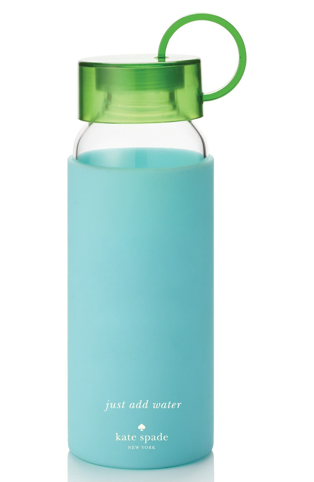 glass & silicone water bottle, Main, color, 440
