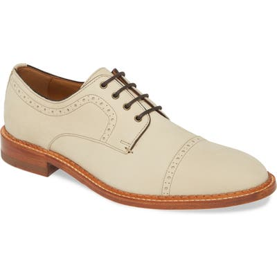 J & m 1850 Chambliss Cap Toe Derby, White