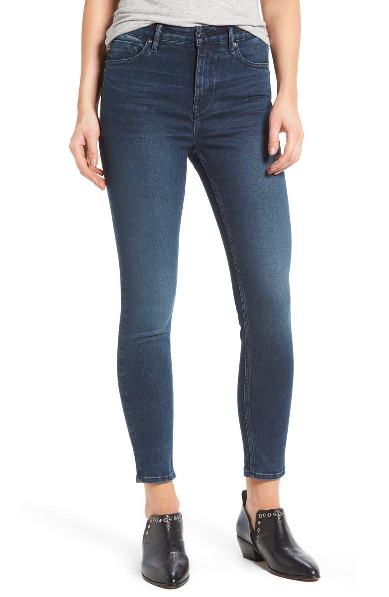 VIGOSS Jagger High Waist Skinny Jeans, Main, color, 400