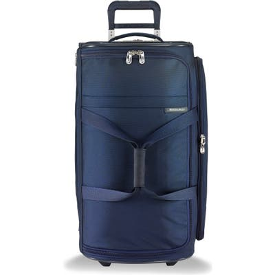 Briggs & Riley 27-Inch Medium Baseline Rolling Duffle Bag - Blue