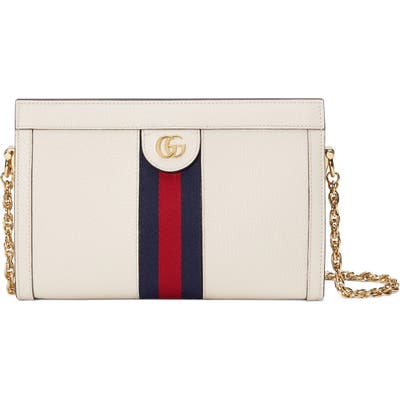 Gucci Smallleather Shoulder Bag - White