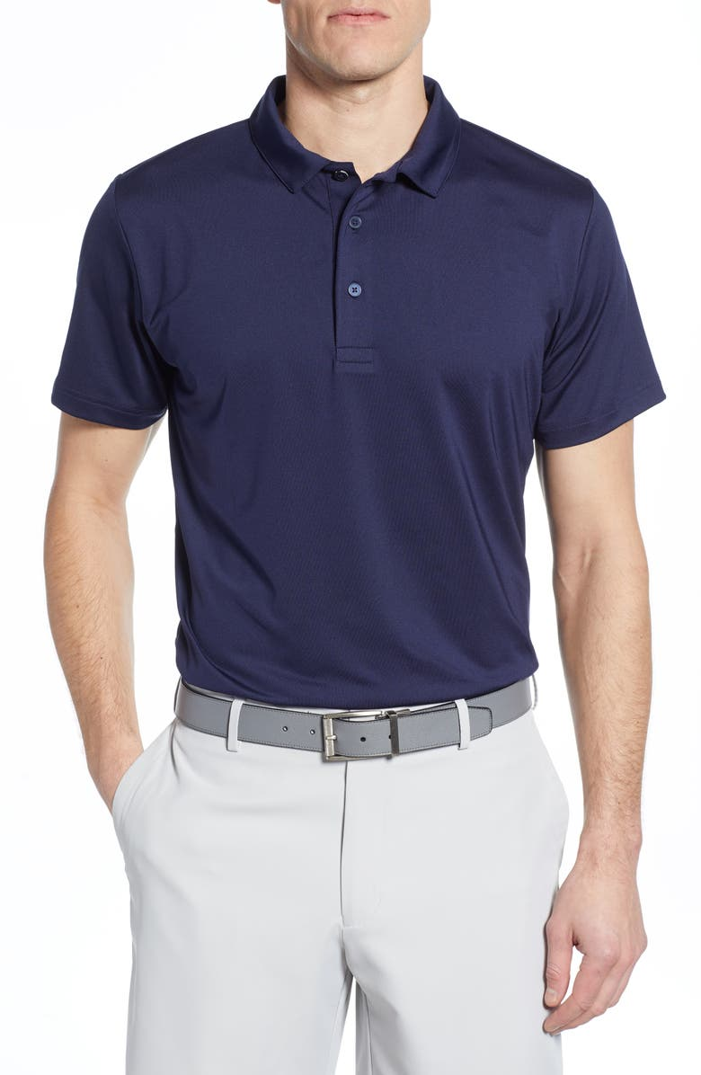 MIZZEN+MAIN Phil Mickelson Performance Golf Polo, Main, color, NAVY SOLID