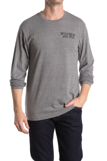 Image of THE NORMAL BRAND Wide Open Long Sleeve T-Shirt