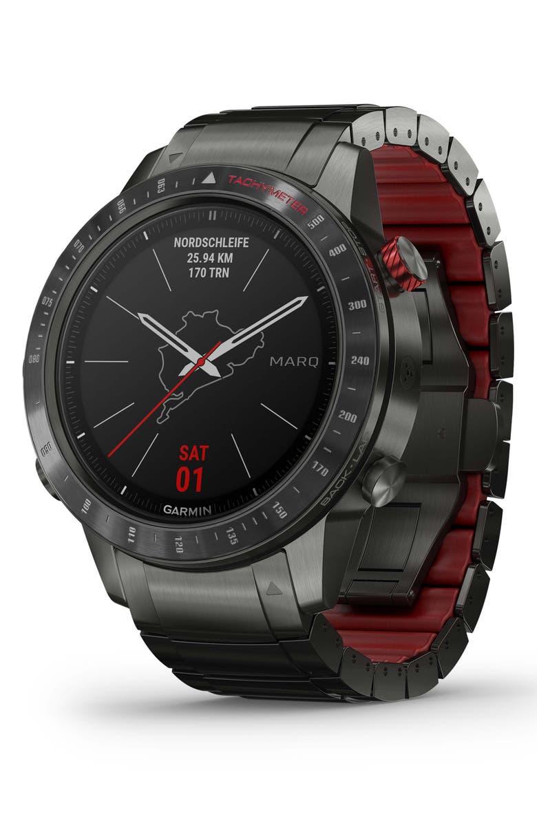 GARMIN MARQ Driver GPS Smart Watch, 46mm, Main, color, 001
