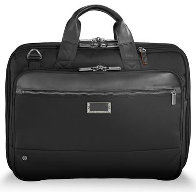 Briggs & Riley @work Expandable Briefcase - Black