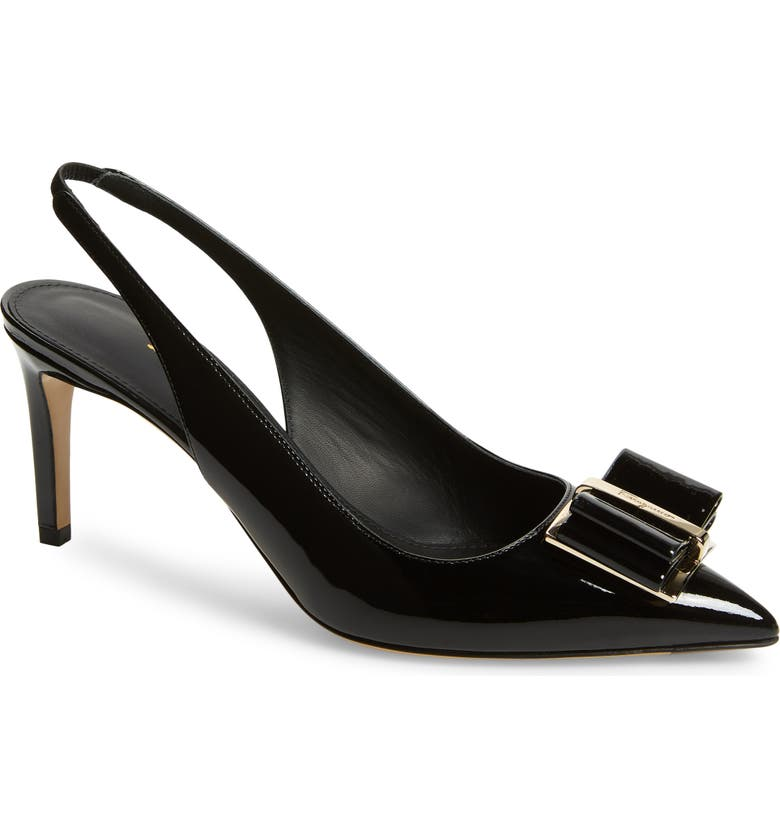 Bow Slingback Pump by Salvatore Ferragamo
