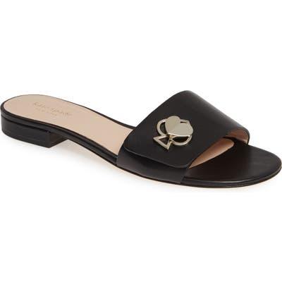 Kate Spade New York Ferry Slide Sandal, Black