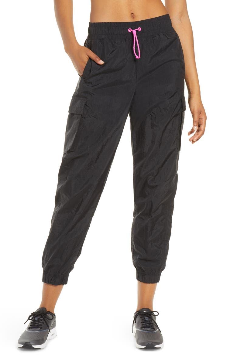 NIKE Sportswear Icon Clash Woven Sweatpants, Main, color, 001