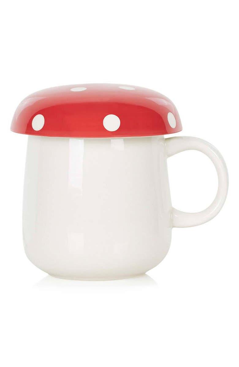 TOPSHOP Mushroom Coffee Mug, Main, color, 600