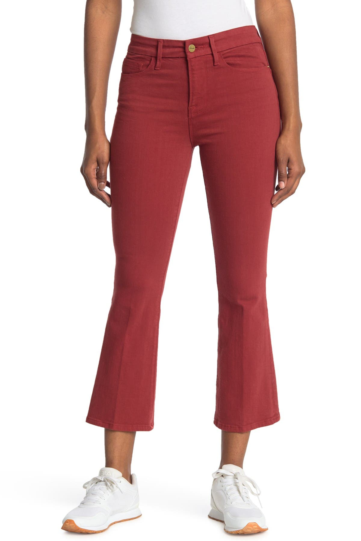 Image of FRAME Le Crop Mini Bootcut Jeans