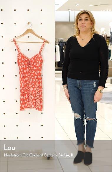 Don't Dare Mixed Print Minidress, sales video thumbnail