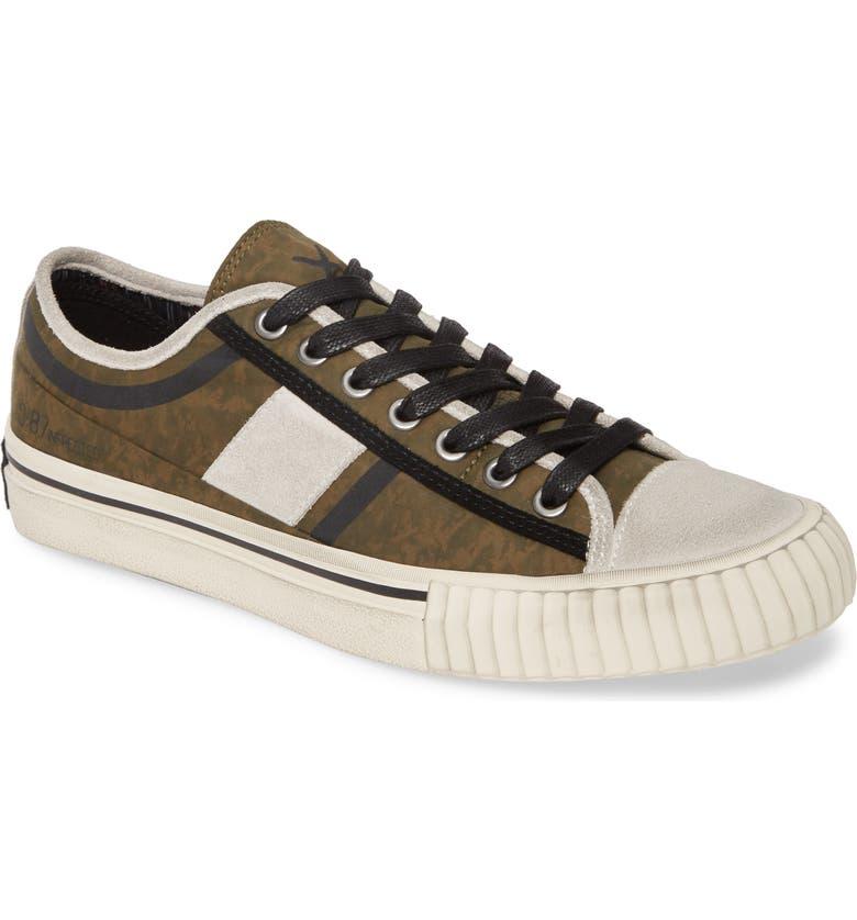 BOOTLEG BY JOHN VARVATOS Low Top Sneaker, Main, color, TARP GREEN PARACHUTE