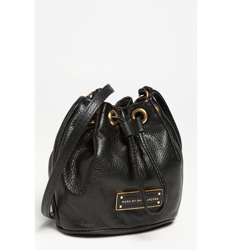 1fcbbb348 MARC BY MARC JACOBS 'Too Hot to Handle - Mini' Leather Drawstring Crossbody  Bag