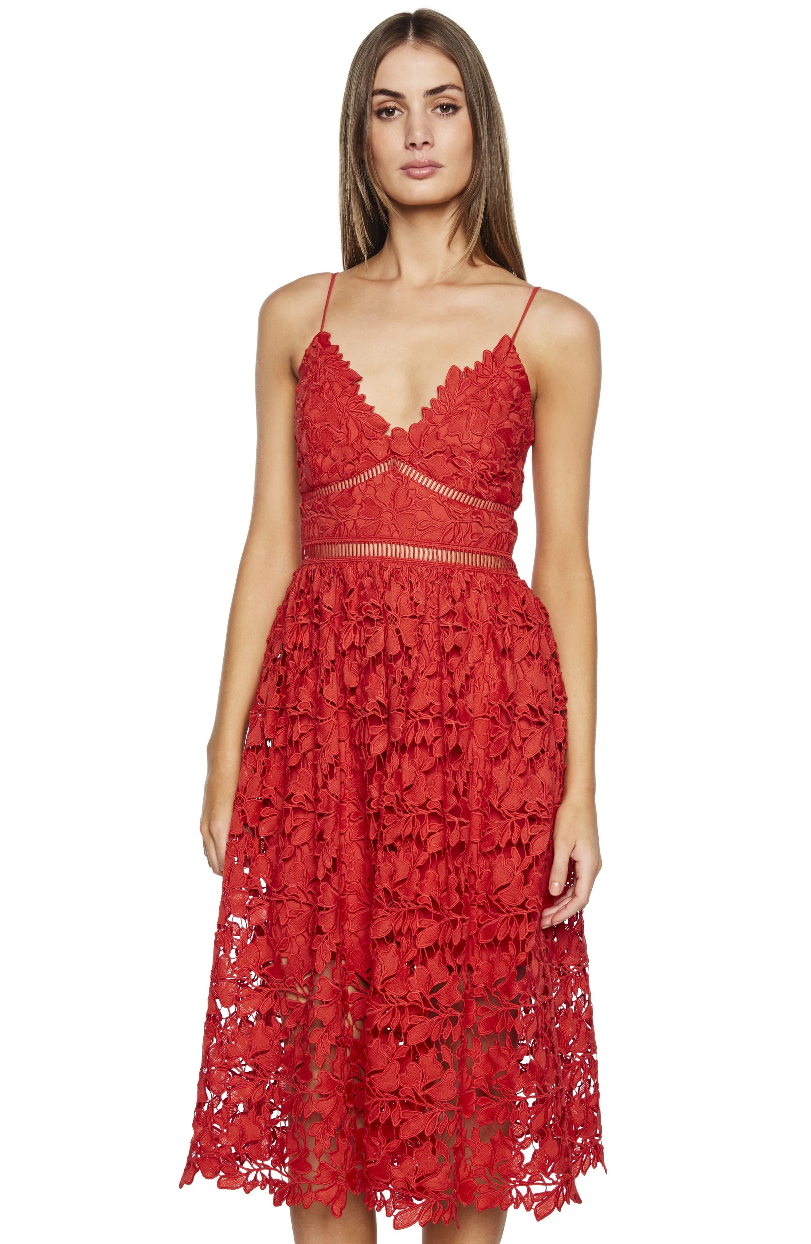 ,                             Sonya Lace Cocktail Dress,                             Alternate thumbnail 9, color,                             610