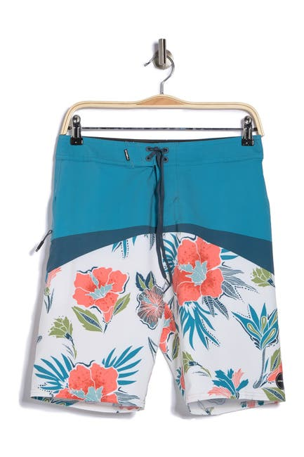 Image of O'Neill Hyperfreak Floral Boardshorts