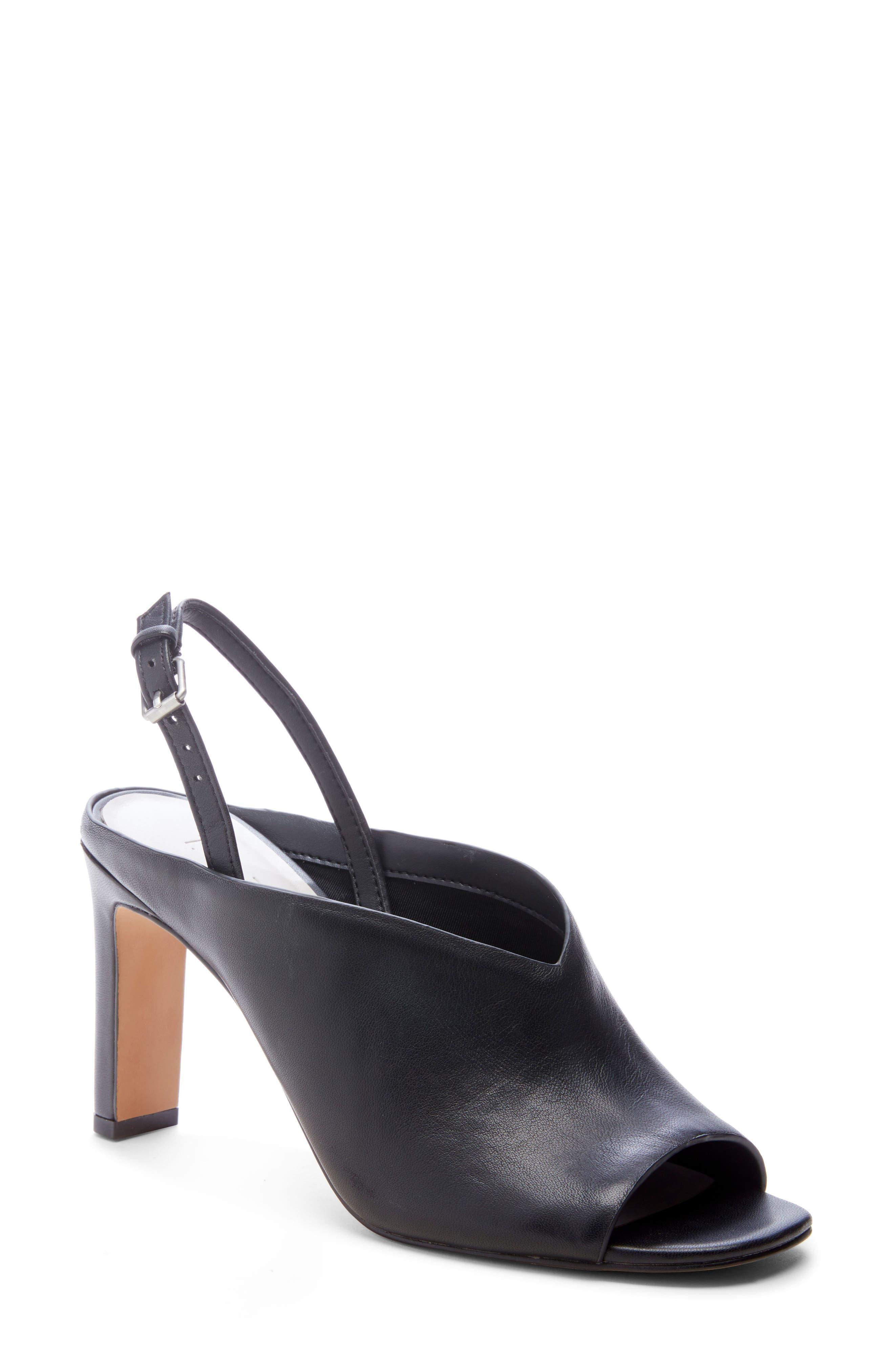 1. State Pettle Slingback Sandal- Black