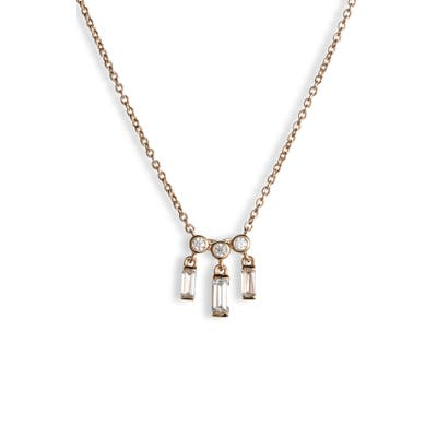 Nadri Mercer Small Shaky Frontal Necklace