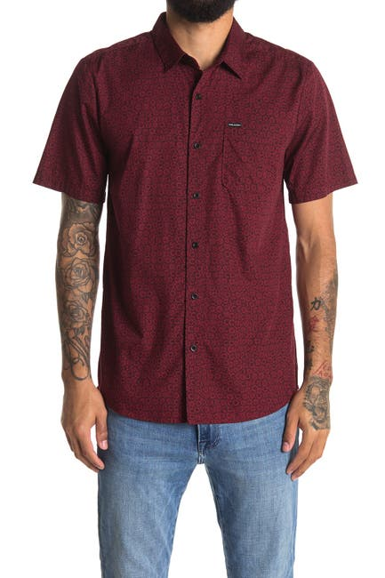 Image of Volcom Jackaroach Short Sleeve Shirt