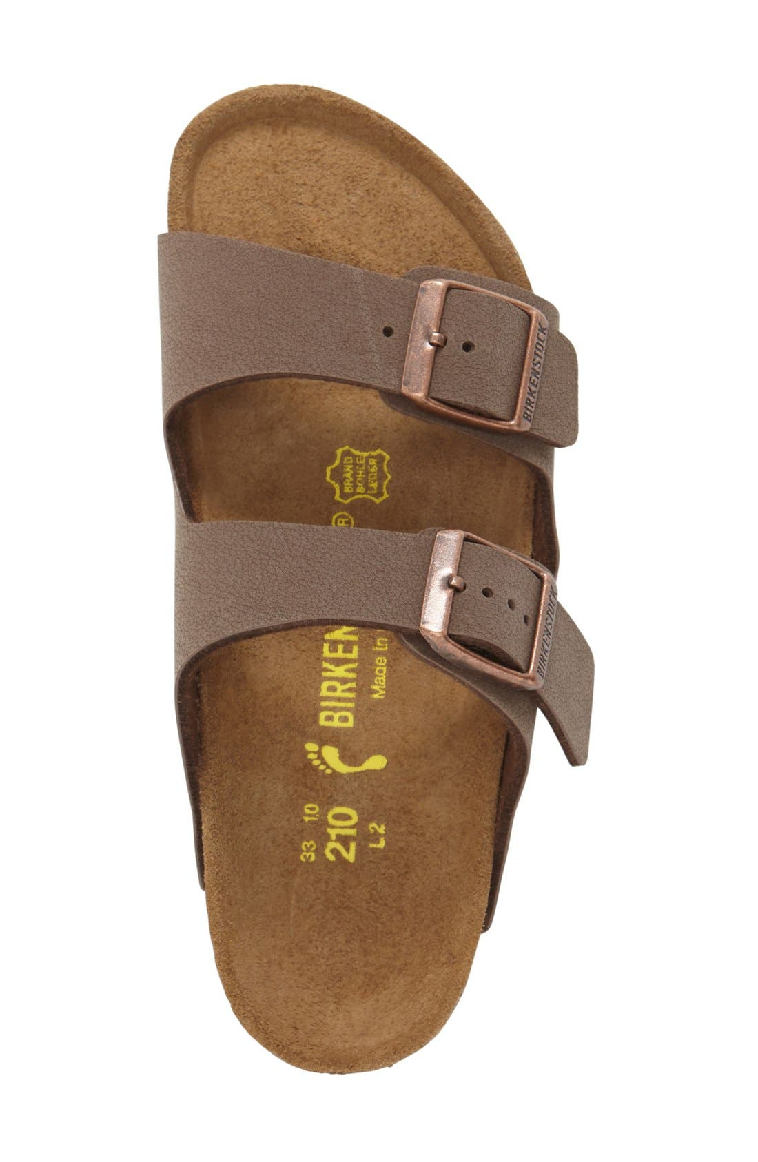 ,                             'Arizona' Suede Sandal,                             Alternate thumbnail 9, color,                             MOCHA