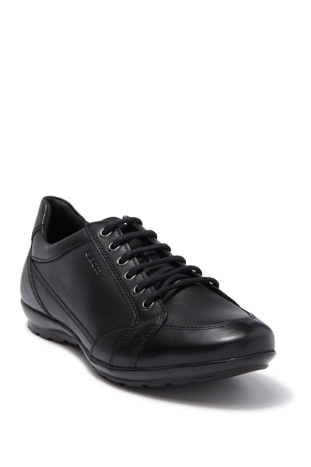 Image of GEOX Symbol Leather Sneaker