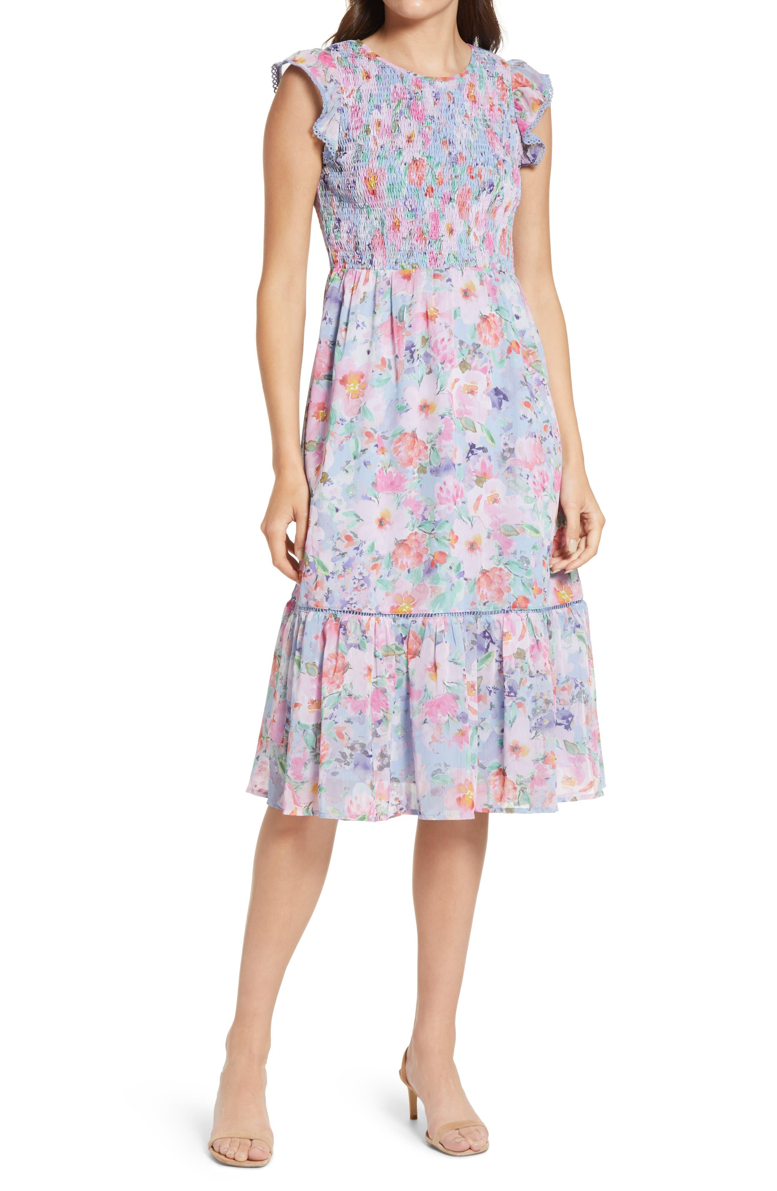 Women's Lost + Wander Pick Me Floral Dress