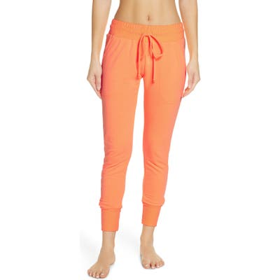 Free People Fp Movement Sunny Skinny Sweatpants, Orange