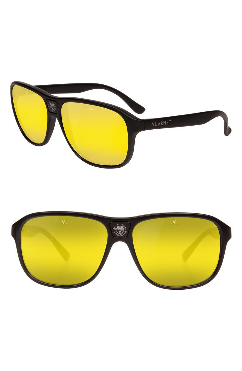 VUARNET Legends 03 56mm Sunglasses, Main, color, 006
