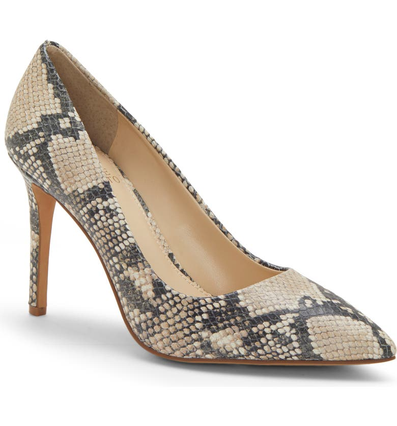 VINCE CAMUTO Savilla Pump, Main, color, NATURAL LEATHER