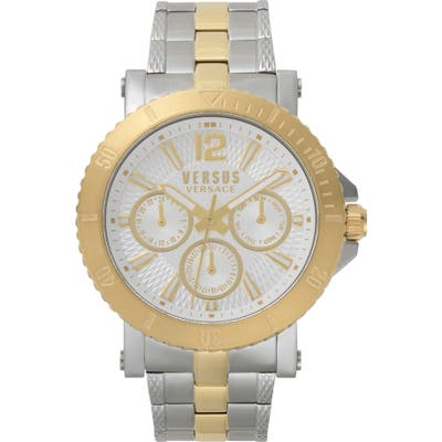 Versus By Versace Steenberg Multifunction Bracelet Watch, 45Mm