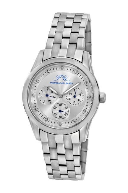 Image of Porsamo Bleu Women's Diana Diamond Bracelet Watch, 39mm - 0.07 ctw