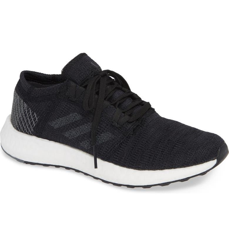 ADIDAS PureBoost X Element Knit Running Shoe, Main, color, 001