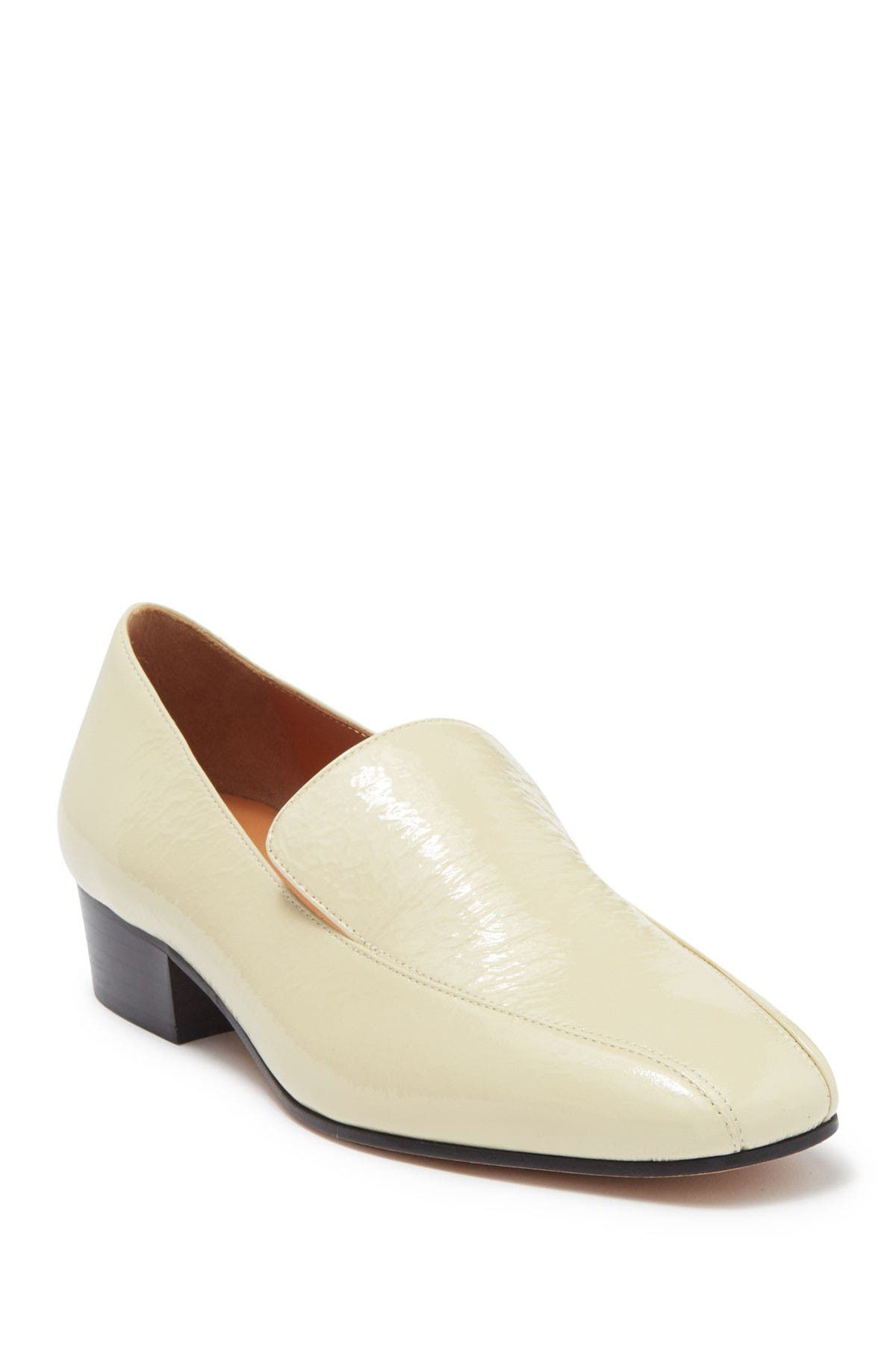 Image of RACHEL COMEY Cheater Leather Block Heel Loafer