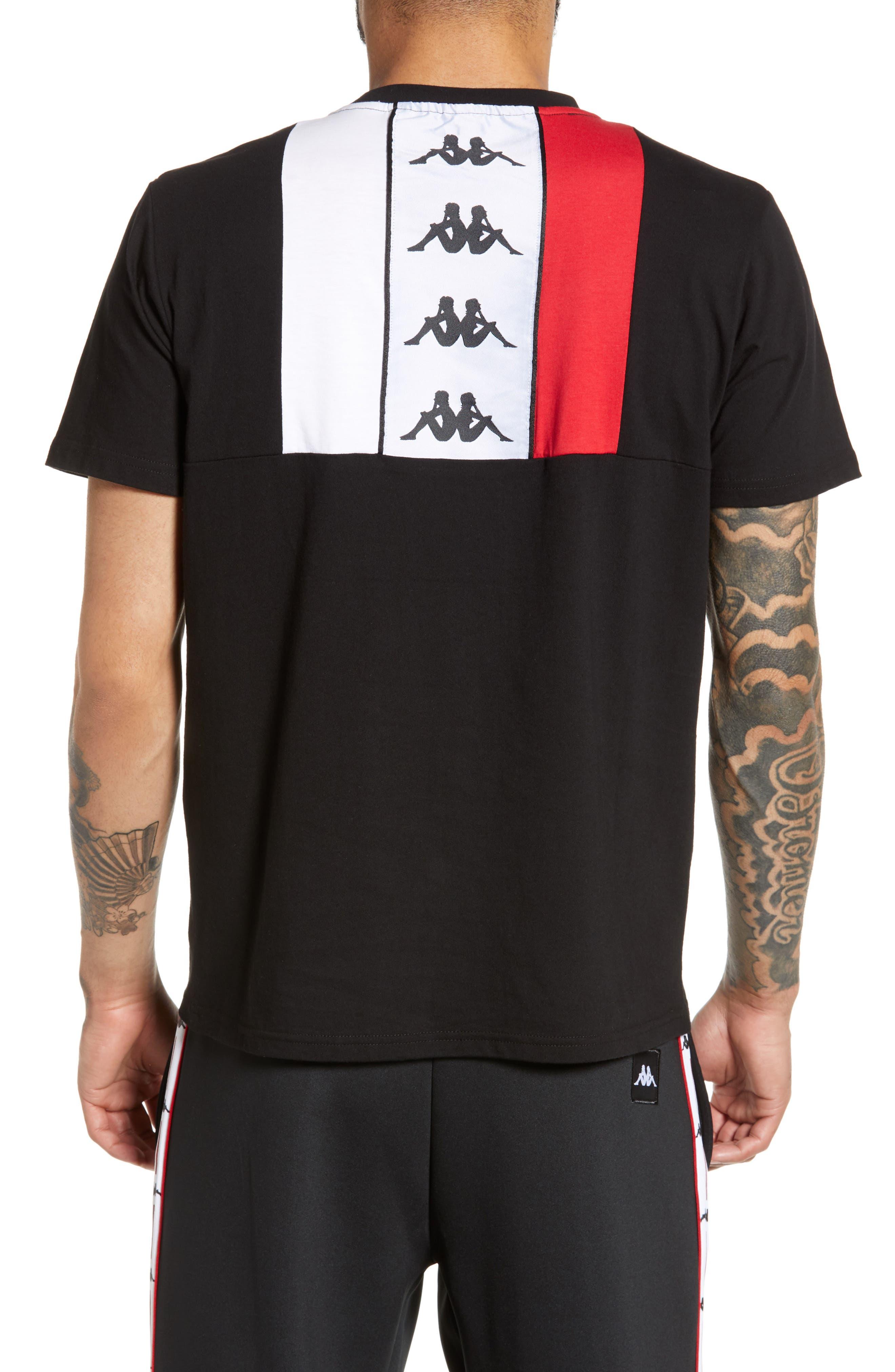 ,                             Authentic Baias Pocket T-Shirt,                             Alternate thumbnail 2, color,                             BLACK/ RED/ WHITE