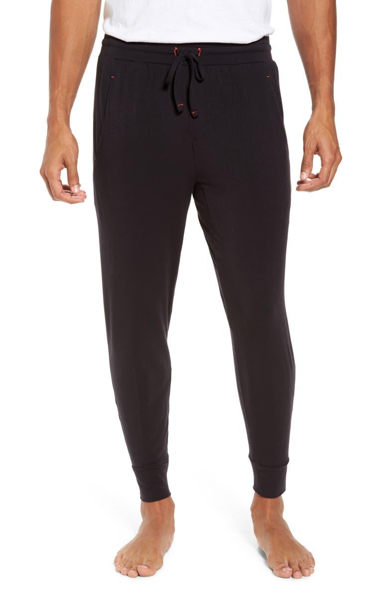 TOMMY JOHN Jogger Pants, Main, color, BLACK