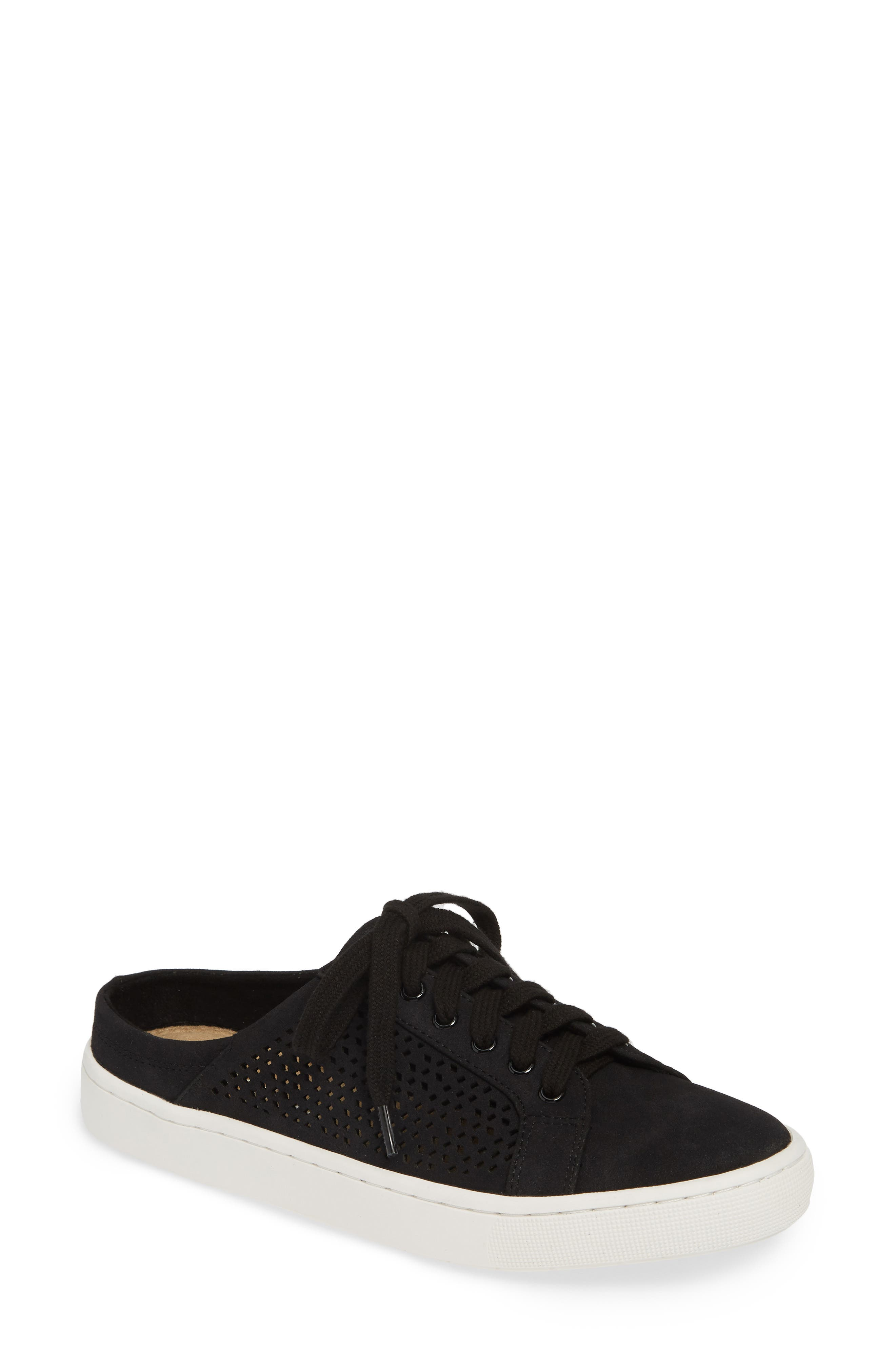 Bella Vita Star Open Back Sneaker, Black