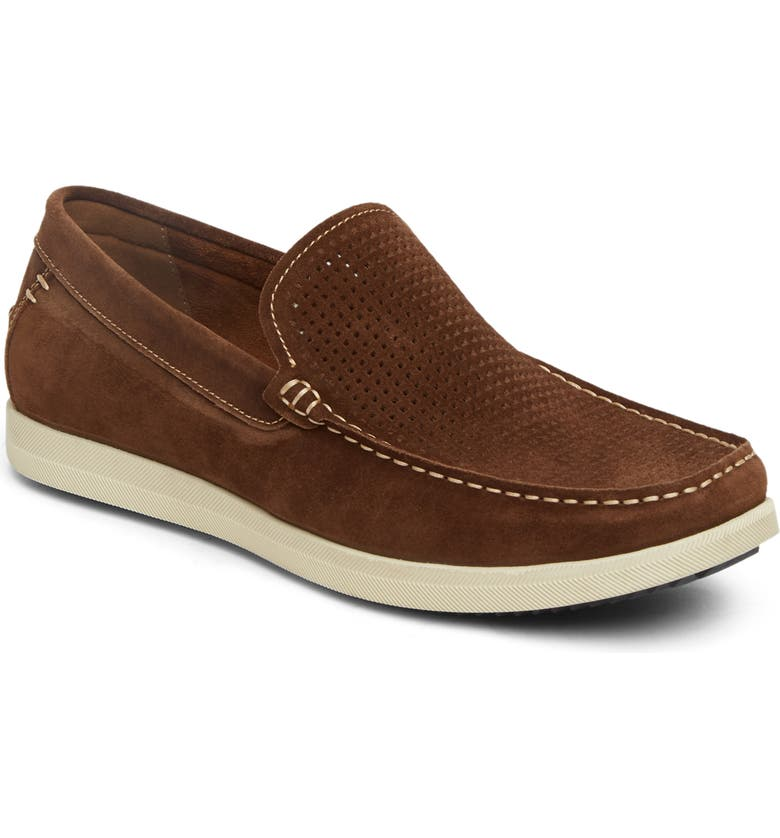 REACTION KENNETH COLE Kenneth Cole Reaction Braylon Slip-On, Main, color, TAUPE SUEDE