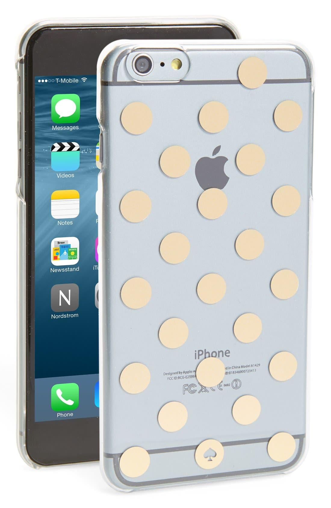 'le pavilion' iPhone 6 Plus & 6s Plus case, Main, color, 710