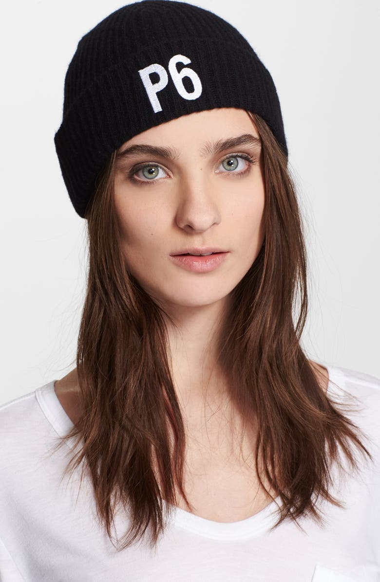 ALEXANDER WANG FOR ATHLETE ALLY 'P6' Limited Edition Beanie, Main, color, 001