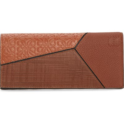 Loewe Long Puzzle Bifold Leather Wallet -