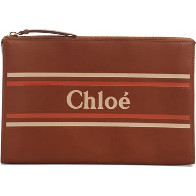 Chloe Vick Leather Zip Pouch -