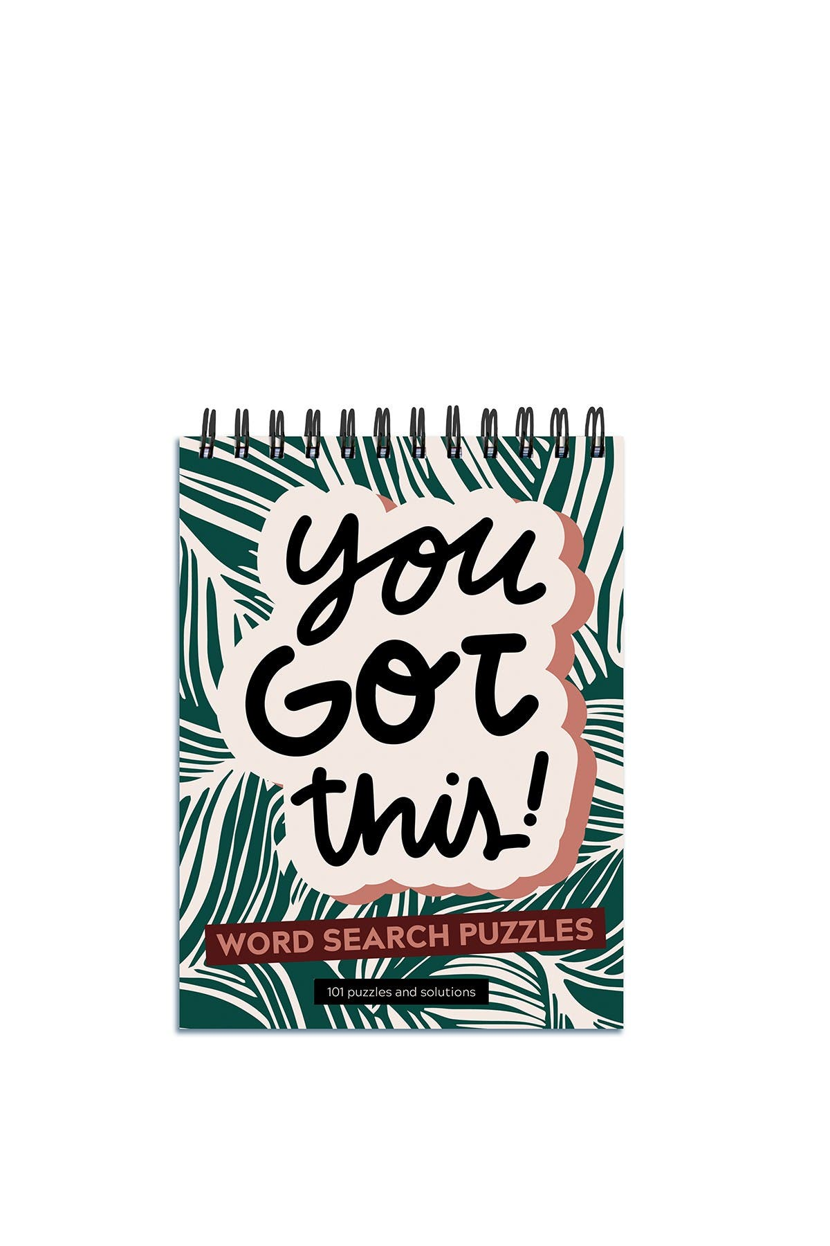Image of TF Publishing You Got This Word Search Book Spiral Puzzle Pad - Pack of 2