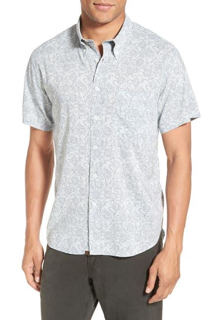 Image of Billy Reid Tuscumbia Standard Fit Short Sleeve Sport Shirt