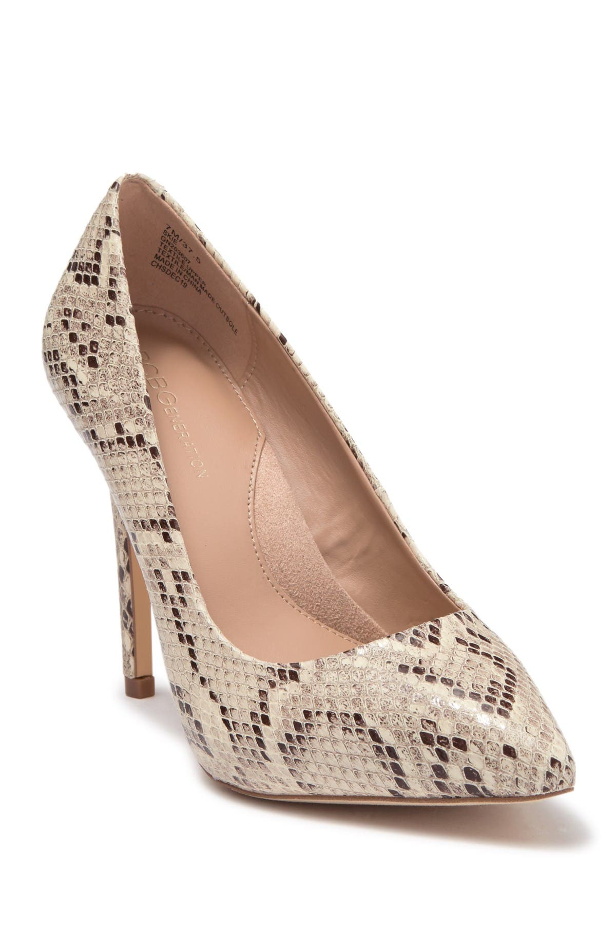 Image of BCBGeneration Skie Pointed Toe Pump