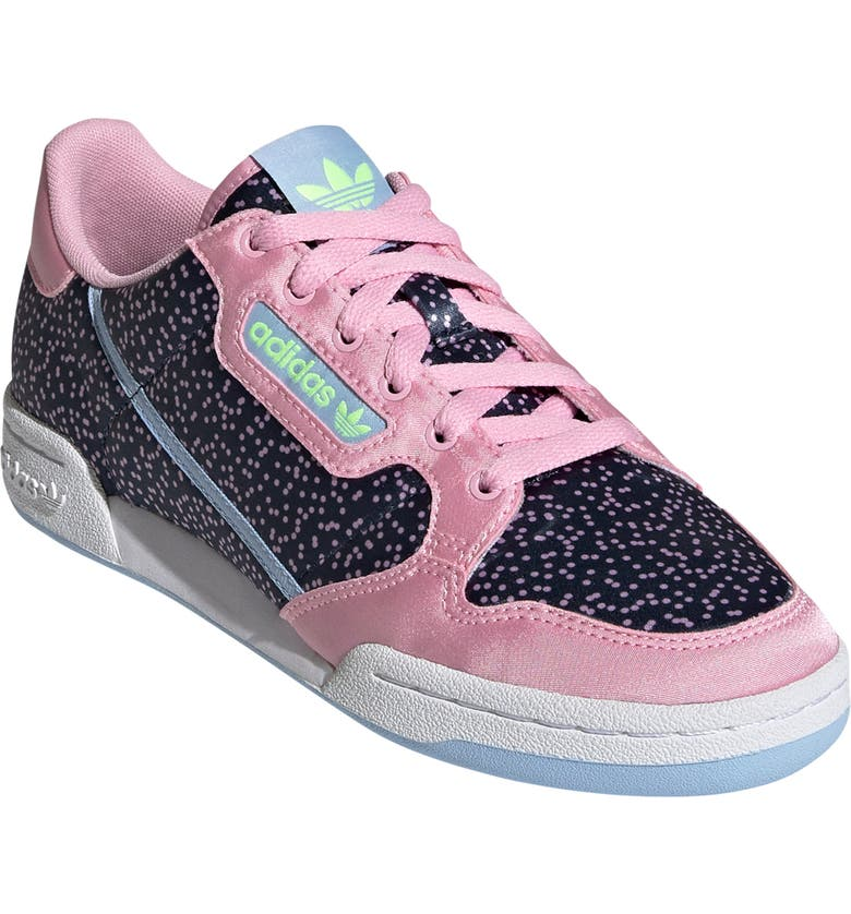 ADIDAS Continental 80 Sneaker, Main, color, TRUE PINK/ COLLEGIATE NAVY