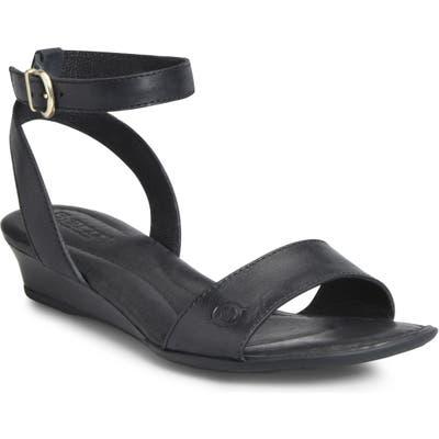 B?rn Sevier Wedge Sandal, Black