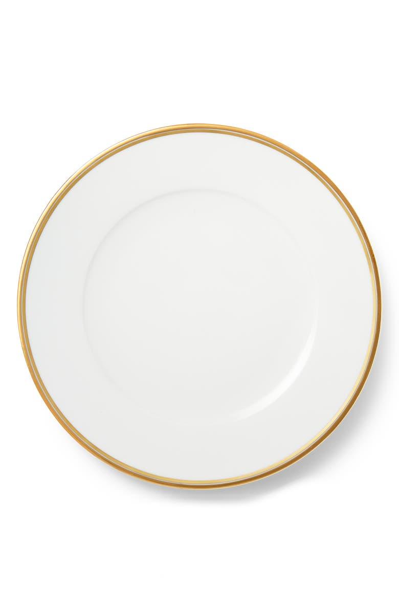 RALPH LAUREN Wilshire Salad Plate, Main, color, GOLD